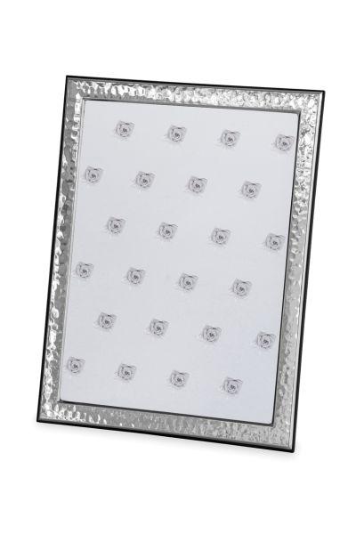 Rahmen gehämmert 18 x 24 Echt Silber mit Holzrücken
