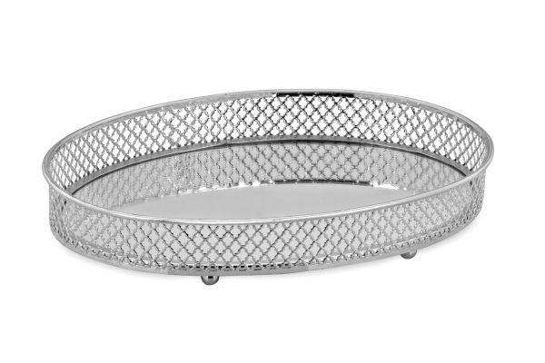 Galerie-Spiegeltablett oval