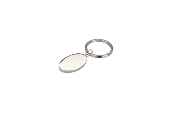 Schlüsselanhänger oval