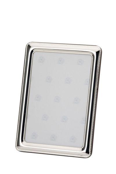 Rahmen Perlrand 9x13 - Echt Silber